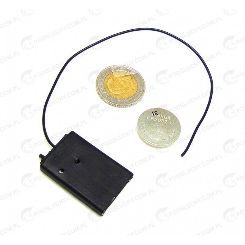 Podsłuch radiowy DT-30 zasilanie bateria CR2032
