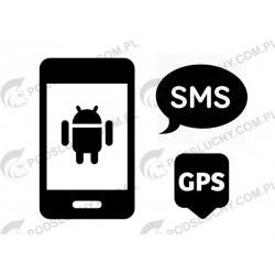 Podsłuch wiadomości SMS i MMS, lokalizator