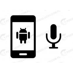 Podsłuch otoczenia Android