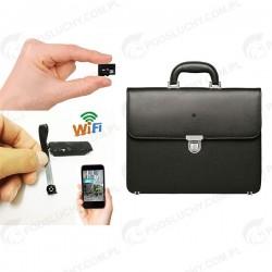 Kamera w teczce, neseserze, wifi, microSD
