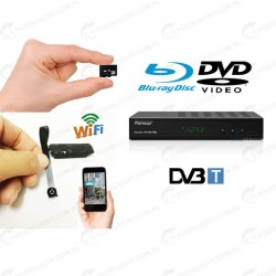 Kamera zamaskowana w dekoderze DVB-T, DVD, Blu-Ray Disc
